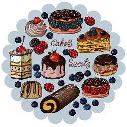 کيک و شيريني